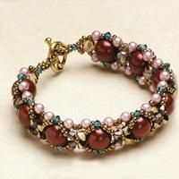 Beaded Jewelry Design Ideas- Make a Beaded Bracelet out of Pearls and Crystal Beads