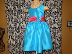 Girls Dress size 3 and size 5 Flower Girl by Cloud9Angelwear