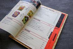 10 Beautiful Restaurant Food Menu Designs For Inspiration Menue Design, Food Menu Design, Restaurant Menu Design, Restaurant Recipes, Food Items List, Diner Menu, Maine, Find Your Friends, Menu Book
