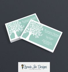 Fun boutique style business card design template business card business card designs printable business card design nature themed business card wellness business reheart