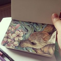 fuckyeahmargaw: My moleskine won't leave me alone these days…
