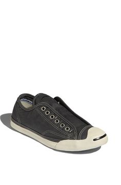 Converse 'Jack Purcell' Slip-On Sneaker (Women) by nordstrom What Should I Wear Today, Converse Jack Purcell, Shoe Boots, Shoe Bag, My Black, Fashion Lookbook, Clothing Items, Fashion Shoes, Personal Style