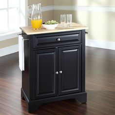 LaFayette Kitchen Island Base Finish: Black - http://kitchenislandspot.com/lafayette-kitchen-island-base-finish-black-505930878/