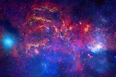 Via Láctea tirada pelo telescópio Hubble