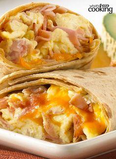 Ham & Egg Wraps #recipe