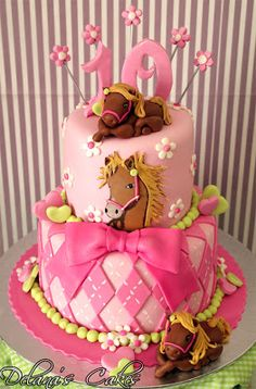 All the pretty Horses Cake