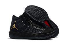 2f3273110c3596 Buy Men s Jordan Melo M13 Black and Metallic Gold Basketball Shoes