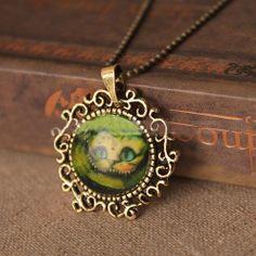 Alice In Wonderland Cheshire Cat Chain Necklace