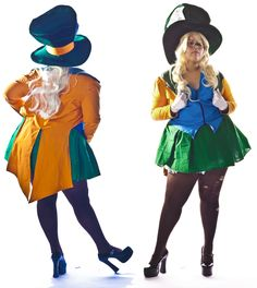 chubby-cosplay: I've opted to make as many sassy Disney costumes as I could for this Halloween. Sassy Mad Hatter only made sense!