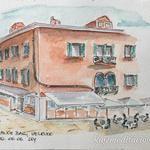 Orange bar Orange, Sketching, Bar, Mansions, House Styles, Building, Travel, Decor, Venice Italy