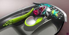 Renault Frendzy Concept Interior Design Sketch