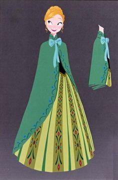 Disney's Frozen Costume Design by Brittney Lee