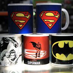 #DCComics #Comics #Canecas #heroes #batman #superman