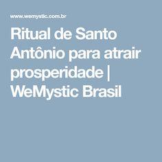 Ritual de Santo Antônio para atrair prosperidade | WeMystic Brasil