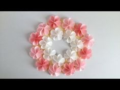 Origami Orchidee: Orchid-Blossom - Tutorial [HD] - YouTube