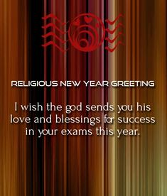Nice New Year Relegion Christian Quotes Wishes Image | Happy New Year 2018  Wishes Quotes Poems Pictures | Pinterest | Christian, Christian Messages  And Messages