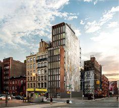 25 Great Jones Street, rendering by BKSK Architects