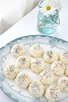 Anginetti - Italian Lemon Drop Cookies