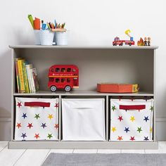 Our wooden Abbeville Storage Shelf unit in stone can be used for books & toys and looks great in hallways, sitting rooms or kitchens. Book Storage, Cube Storage, Toy Shelves, Shelf, Toy Corner, Great Little Trading, Baby Bedroom, Girls Bedroom, Bedroom Ideas