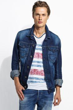#Denim Jacket – A intemporal tendência dos casacos de ganga. #Salsa
