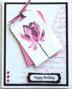 Card making kit 5 Happy Birthday Thank You Get Well Thinking of You Stampin' Up  #StampinUp