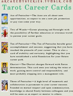 What Are Tarot Cards? Made up of no less than seventy-eight cards, each deck of Tarot cards are all the same. Tarot cards come in all sizes with all types of artwork on both the front and back, some even make their own Tarot cards What Are Tarot Cards, Ace Of Pentacles, Types Of Reading, Describing Characters, Further Education, Overseas Travel, Tarot Learning, Tarot Card Meanings, Career Planning