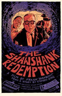 The Shawshank Redemption #alternative #movie #art #poster #complex #illustration #film #creative