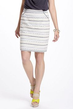 Sailing Lace Skirt #anthropologie