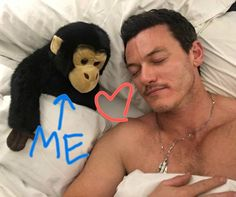 Sorry, can't help it.   My #daydreaming with #LukeEvans