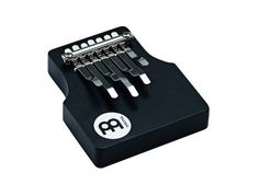 Meinl Percussion KA7-M-BK Medium Kalimba with Extra Wide Tongues - Black by Meinl Percussion. $46.99. MEINL Kalimbas are great sounding melodic instruments with unique features. Solid construction, plated steel keys and an ergonomic shape makes them dependable musical tools. This Kalimba is made for comfort. Seven wide steel nibs are specially designed to disperse the pressure on the fingertips. The result is a comfortable Kalimba with an uncompromising sound.