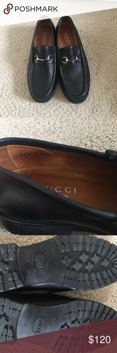 Authentic Gucci Loafers Size 8 Super comfy Gucci loafers. Size 8. Worn only once. Gucci Shoes Flats & Loafers
