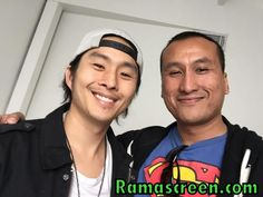 Rockin' it with the super cool Justin Chon of the film #SeoulSearching