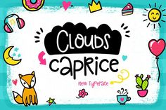 Clouds Caprice Typeface from FontBundles.net
