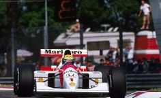 Ayrton Senna da Silva, Mr. Monaco, the three-time Formula One World Champion (1988, 1990, 1991).
