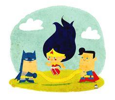 Superheroes cuties