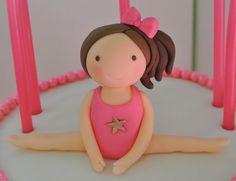 Gymnastics Cake By Eunicecakedesigns Cakesdecorcom
