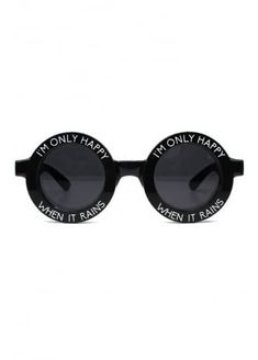4c1644fbd7c Witch Worldwide Only Happy When It Rains Sunglasses