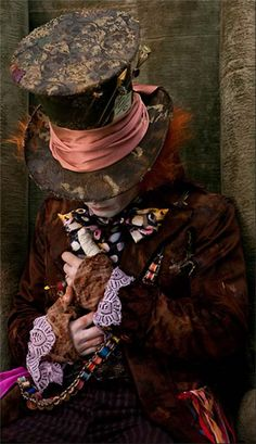 """""""you used to be much muchier, you've lost your muchness"""" -mad hatter"""