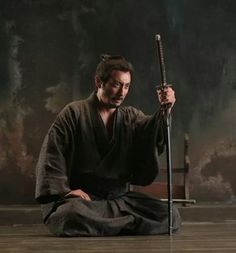 """Japan(日本),Samurai(侍) & Life( 生活 ) — """"The two hardest tests on the spiritual road are. Samurai Poses, Ronin Samurai, Samurai Warrior, Warrior Spirit, Shadow Warrior, Japanese Warrior, Japanese Sword, Aikido, Karate"""