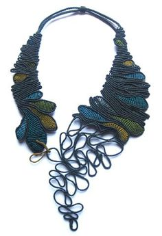 Macrame Necklace by Javiera Gonzales