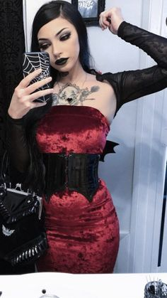 Dark Fashion, Cute Fashion, Gothic Fashion, Fashion Looks, Modern Outfits, Edgy Outfits, Cute Outfits, Fashion Outfits, Alternative Style