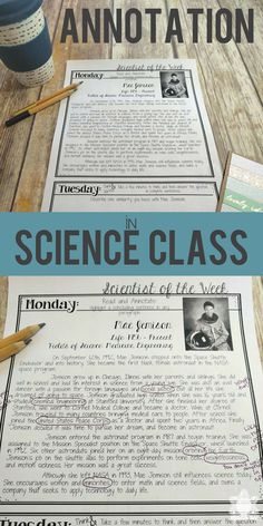 Find tips to incorporating text annotation into your secondary science class. Sc… Find tips to incorporating text annotation into your secondary science class. Physical Science, Science Education, Teaching Science, Science Activities, Science Student, Science Experiments, Science Resources, Science Ideas, Teaching Tips