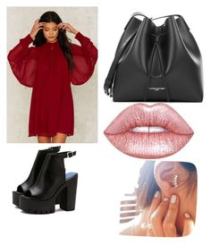 """Let Me Stay With You"" by williamskaitlyn-kw on Polyvore featuring Nasty Gal, PUR and Lime Crime"