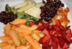 Fodmaps friendly fruit platter (plus for U.S peeps, a list of fodmap friendly brandname foods).