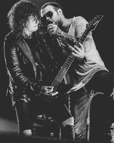Ben Bruce and Danny Worsnop // Asking Alexandria