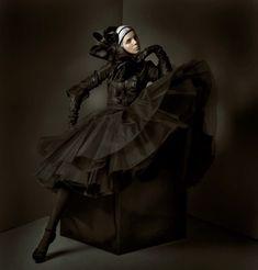 Kolekce Korloff - Monika Drápalová Goth, Victorian, Model, Dresses, Style, Fashion, Gothic, Vestidos, Swag