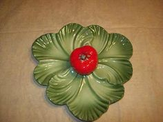 Brad Keeler Lettuce and Tomato Serving Dish