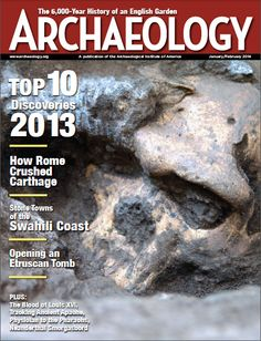 """2P - Archaeology Magazine/Links to the sea peoples,or Philistines,have been discovered in a building dating to 1100BC unearthed @ Jordan's Tell Abu al-Kharaz.""""We have,for instance,found pottery resembling corresponding items from Greece & Cyprus in terms of form & decoration,& also cylindrical loom weights for textile production that could be found in central & SE Europe around the same time,""""said Peter Fischer of the University of Gothenburg."""