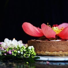 Chocolate raw cake (free from gluten, dairy, refined sugar)