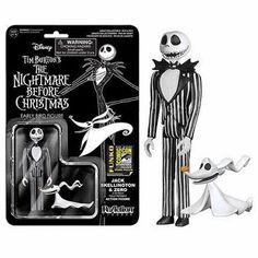 Goth Shopaholic: Funko's New Nightmare Before Christmas ReAction Figures - Jack Skellington